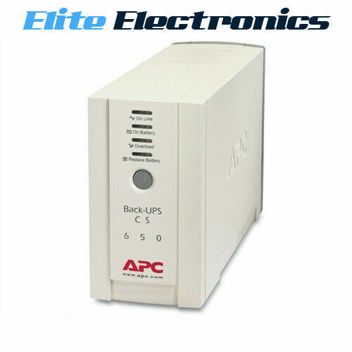 APC BK650-AS BACK-UPS CS 650VA 230V SURGE PROTECTOR POWER SUPPLY