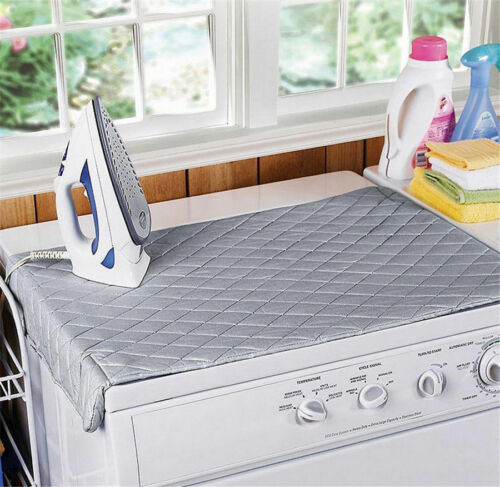 Compact Portable Ironing Mat  Ironing Board Travel Dryer Washer Iron Anywhere