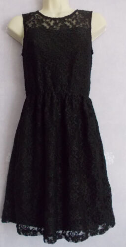 New INNOCENT LIFESTYLE black lacey lined dress Size 8/10