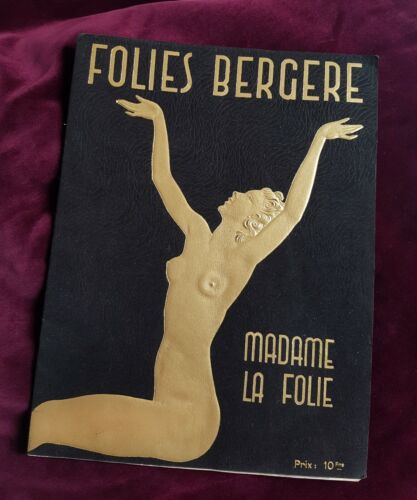 Folies Bergère Bergere erotic nude male burlesque curiosa photo
