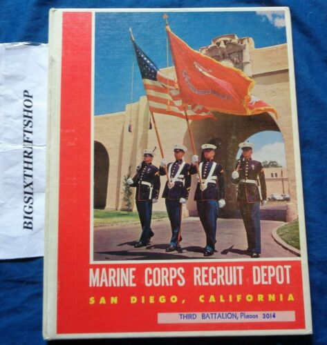 Marine Corps RECRUIT DEPOT MCRD San Diego 1956 ~1959 Yearbook 3014 Lima CoOther Militaria - 135