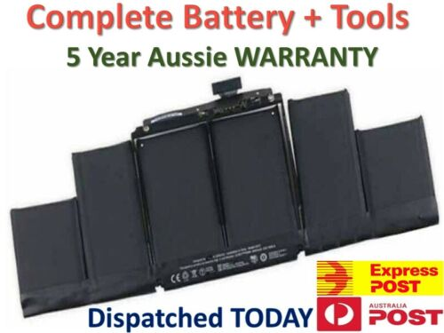 """Genuine A1494 battery for MacBook Pro 15"""" Retina A1398 Late 2013 Mid 2014 ME293"""