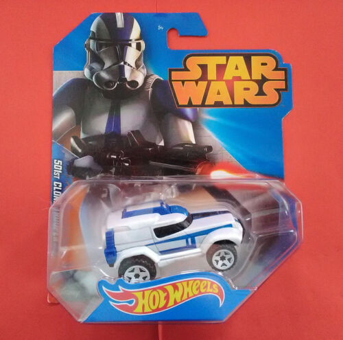 STAR WARS HOT WHEELS - CLONE TROOPER 501 - VOITURE - REF 3657