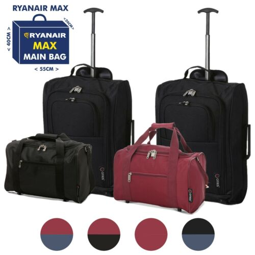 Ryanair Hand Cabin 35x20x20 & 2nd Baggage Fits 55x40x20 Luggage Set <br/> TAKE BOTH IF YOU PURCHASE RYANAIR PRIORITY & 2 BAGS!