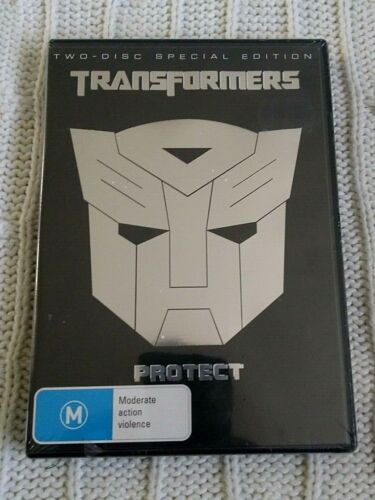 TRANSFORMERS- PROTECT - 2 DISC SPECIAL EDITION – DVD- R- 4- NEW- FREE POST