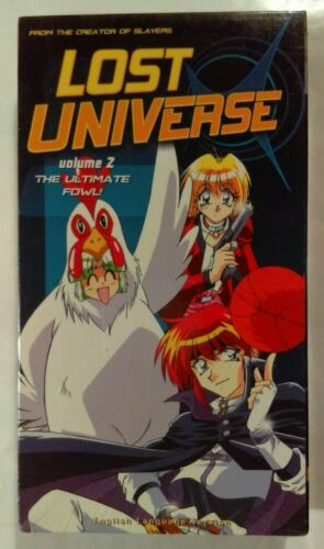 Lost Universe Volume 2 VHS 1998 Anime 2000 A.D.Vision (ADV) NTSC [New & Sealed]