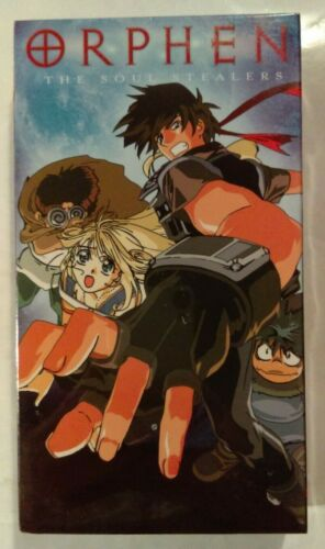 Orphen Volume Five [5] VHS 1998 Anime 2001 A.D.Vision (ADV) NTSC [New & Sealed]