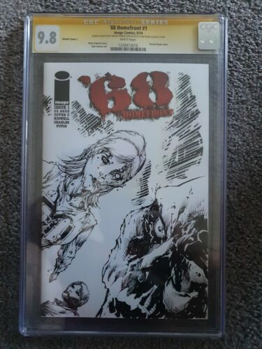 68 Homefront #1 CGC 9.8 Orginal Sketch By Shelby Robertson