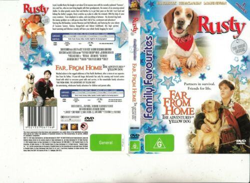 Rusty:The Great Rescue-1997-Hal Holbrook/Far From Home-1995-2 Movie-2 DVD