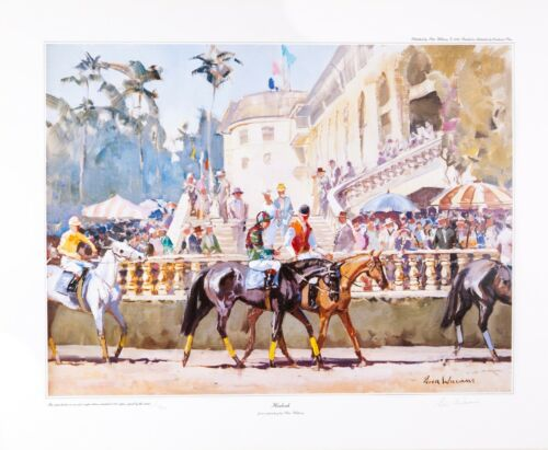 Equine Equestrian Art Prints by New Zealand Artist Peter Williams-Hialeah