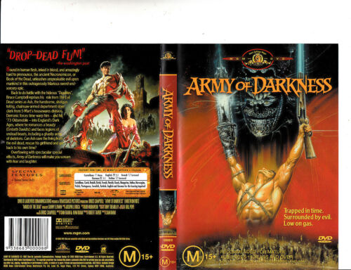 Army of Darkness-1992-Bruce Campbell-Movie-DVD