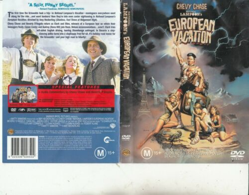 National Lampoon's-European Vacation-1983-Chevy Chase-Movie-DVD