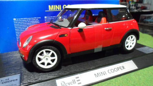 MINI COOPER rouge Right Hand Driven 1/12 REVELL 08453 voiture miniature collecti