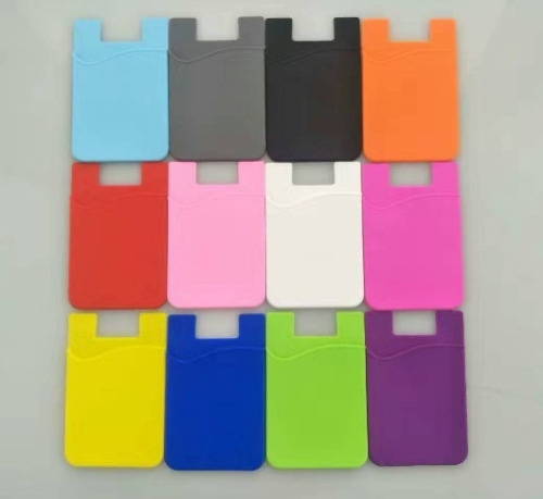 Universal Adhesive Pocket stick on Wallet Card Holder Pouch Case For Smart phone