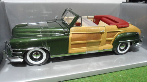 CHRYSLER  TOWN COUNTRY Cabriolet 1948 vert 1/18 MOTOR CITY CLASSICS 5013 voiture