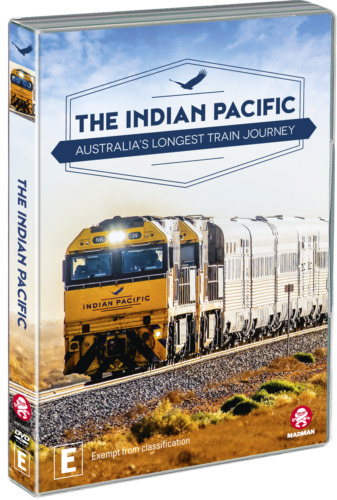 NEW The Indian Pacific - Australia's Longest Train Journey (DVD, 2019) *PREORDER