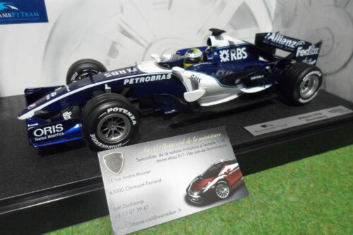 F1  WILLIAMS FW28 ROSBERG # 10 1/18 HOT WHEELS J2979 formule 1 voiture miniature