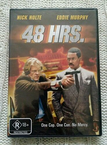48 HRS. – DVD - NICK NOLTE - REGION-4- NEW AND SEALED- FREE POST IN AUSTRALIA