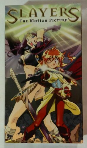 Slayers The Motion Picture VHS 1995 Anime OVA A.D.Vision NTSC [New & Sealed]