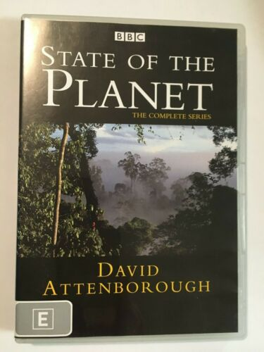 STATE OF THE PLANET - THE COMPLETE SERIES - DVD - R4 - VGC - DAVID ATTENBOROUGH