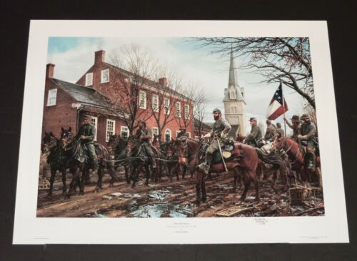 John Paul Strain - After The Storm - Hand Signed  Civil War Print