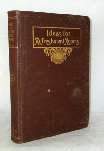 Ideas For Refreshment Rooms Hotel Restaurant Tea Room Coffee Shop WILLY 1923 HC