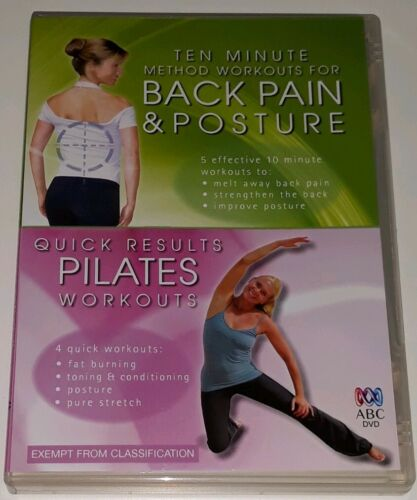 Back Pain and Posture & Quick Results Pilates R4