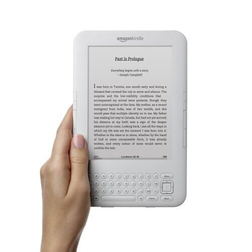 Amazon Kindle Keyboard 3rd Gen D00901 WiFi + 3G With Genuine Case