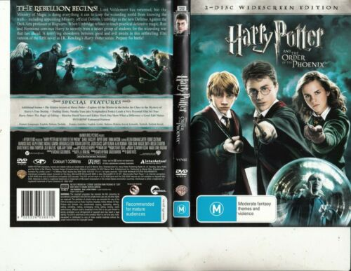 Harry Potter And The Philosopher's Stone-2001-Daniel Radcliffe-Movie-2 DVD