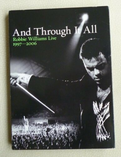 Robbie Williams Live AND THROUGH IT ALL x2 DVD Disc Set R1-6  2006  VGC