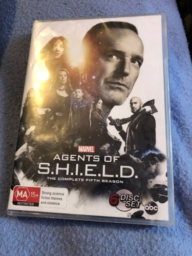 Marvel Agents Of SHIELD DVD Freepost To4