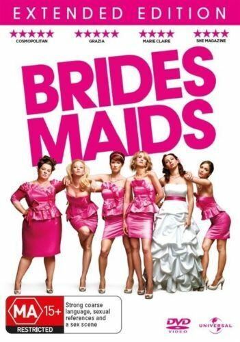 BRIDES MAIDS - EXTENDED EDITION - BOX SET - DVD -REGION-4- NEW- FREE POSTAGE