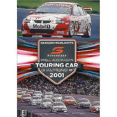 Touring Car Championship Highlights 2001 (DVD, 2018) #New Region 4