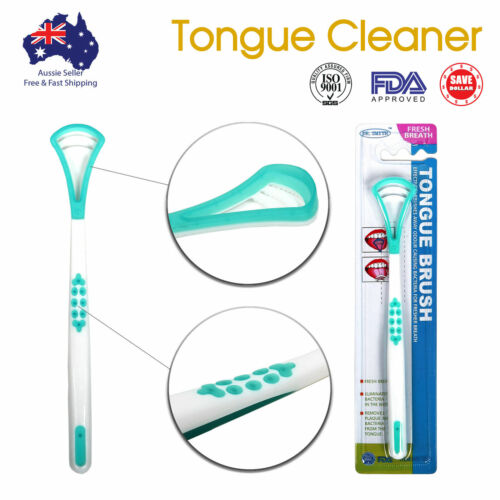 Double Head Oral Care Tongue Cleaner FDA Approved High Quality Dental Scraper