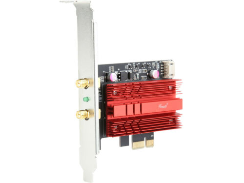 Dual Band Wireless Wi-Fi Adapter, Up to 1730 Mbps (5.0 GHz) 300 Mbps (2.4 GHz)