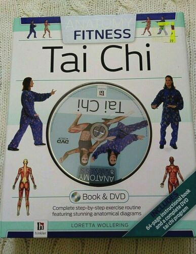 ANATOMY OF FITNESS – TAI CHI (BOOK AND DVD- BOX SET) LIKE NEW- FREE SHIPPING
