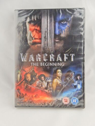 Warcraft The Beginning (2016) (PAL Region 2, 4, 5) DVD – New
