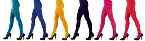 Pretty Polly 3D Colorful Opaque Tights 60 Denier - 4 Bright Shades Available
