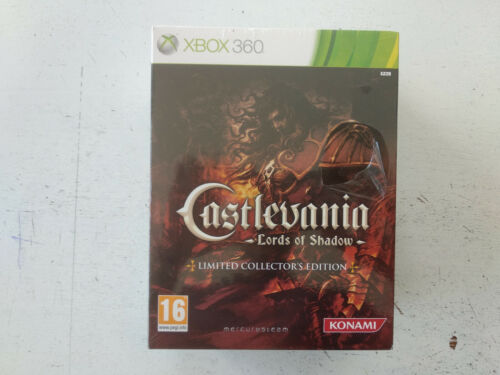 Coffret Collector limited edition Castlevania Lords shadow Xbox 360 UK NEUF/NEW