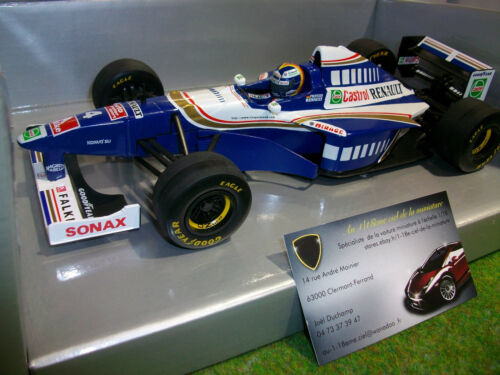 F1 WILLIAMS RENAULT 1997 #4 FRENTZEN 1/18 ONYX X6010 formule 1 voiture miniature