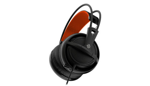SteelSeries 3.5mm Wired Siberia 200 Black Over-Ear Gaming Headphone With Mic