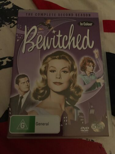 Bewitched : Season 2 - In Colour (DVD, 2005, 5-Disc Set) Region 4