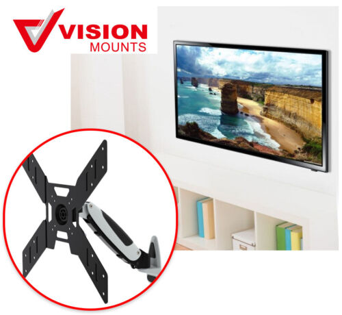 "Wall Mount TV Monitor up to 20 kg & 50"" Gas Spring Vision Mounts VM-GST401"