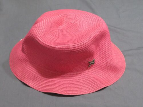 Nuovo con Etichette da Donna Betmar New York Rosa Packable Floppy Sacca Hat Osfm