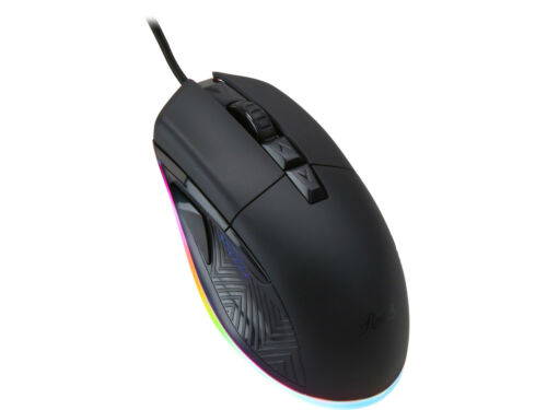Rosewill NEON M56 12400 dpi RGB Gaming Mouse - Black