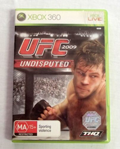 UFC 2009 Undisputed XBox 360 User Manual Case & Insert Only NO GAME