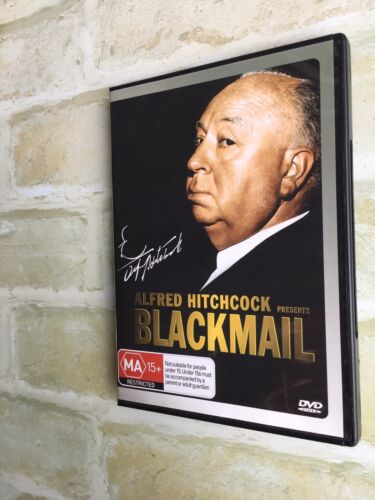 BLACKMAIL ~ ALFRED HITCHCOCK - REGION 4 PAL DVD