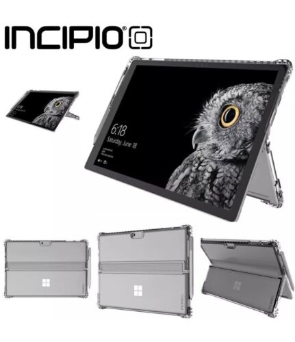 INCIPIO Octane Pure Rugged case for Microsoft Surface Pro 6, 2017 - Clear Black
