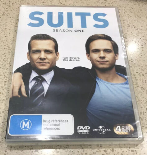 Suits : Season One : 4 Disc DVD Set Brand New Still Sealed Region 4