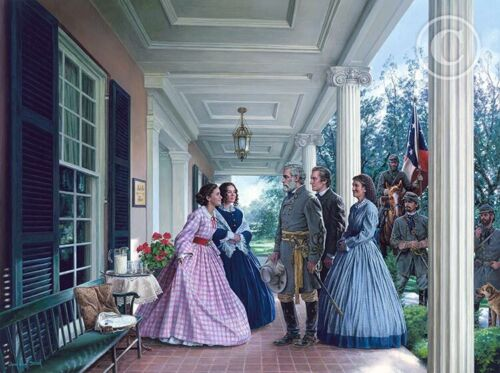 """John Paul Strain's """"THE CHARMING LUCY BUCK AT BEL AIR"""" 1863"""